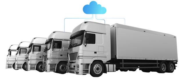 Flotilla de camiones inteligente
